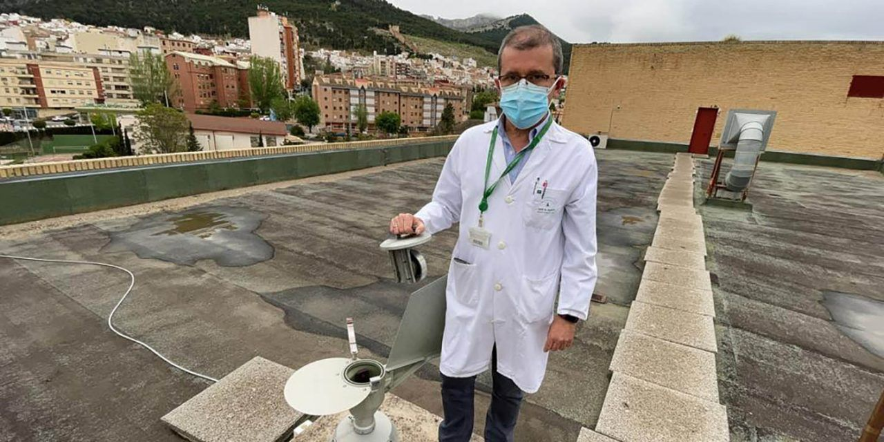 El Hospital Universitario de Jaén finaliza la medición diaria de los niveles de polen