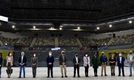 El pleno de la Diputación aprueba el reglamento de uso, utilización de instalaciones y precios del Olivo Arena