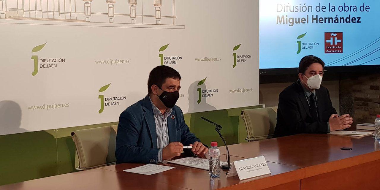Diputación y el Instituto Cervantes renuevan su alianza para seguir difundiendo en el mundo la obra de Miguel Hernández