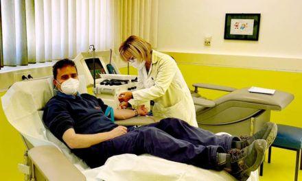 El Centro de Transfusión registra 156 donaciones de plasma hiperinmune