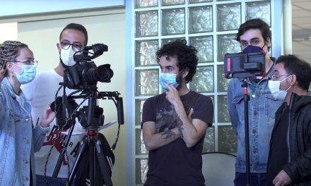 Alumnado del Taller de Cine de la UJA rueda el cortometraje 'Secuelas'