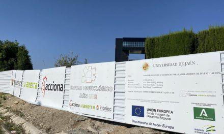 En marcha las obras del nuevo edificio de Centros de Investigación y Transferencia Empresarial de la Universidad de Jaén