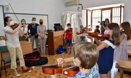 La Fundación Barenboim-Said introduce a 47 niños jiennenses en la diversidad de la cultura musical