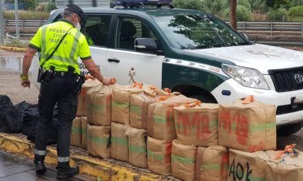 SUCESOS | Interceptados 725 kilogramos de 'hachís' en La Carolina