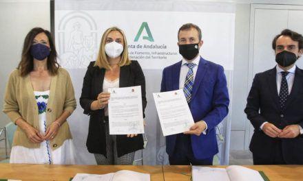 La Junta y el Ayuntamiento de Jaén firman la extinción del antiguo convenio del tranvía