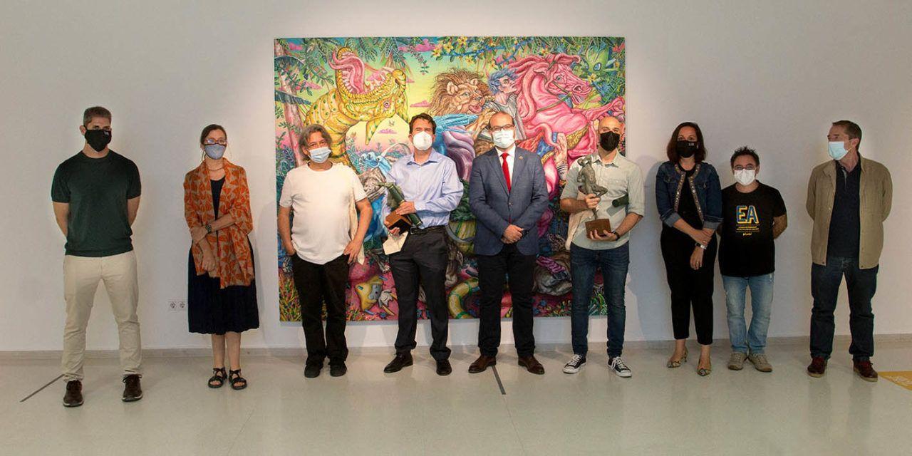 Entregados los premios del V Certamen Internacional de Creación Literaria Miguel Hernández y del XII Certamen Internacional de Cortos TRIMINUTO de la UJA