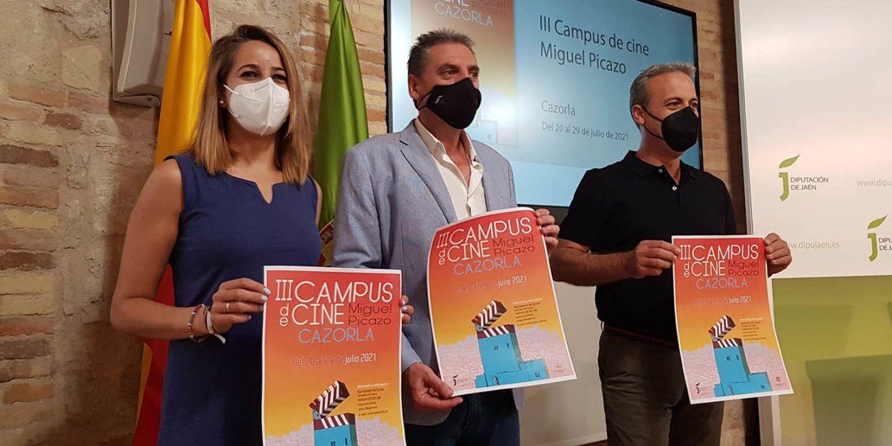 Cineastas como Gabino Diego, Antonio del Real o Montxo Armendáriz participarán en el III Campus de Cine Miguel Picazo