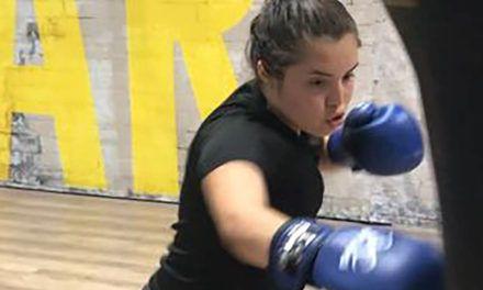 Corey Cobos, la jiennense nuevo talento del boxeo nacional