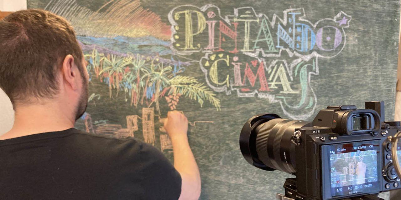 El linarense Carlos Chamorro vuelve con la iniciativa 'Pintando Cimas'