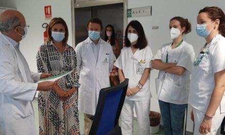 El Hospital de Jaén pone en marcha el tercer acelerador lineal de última generación