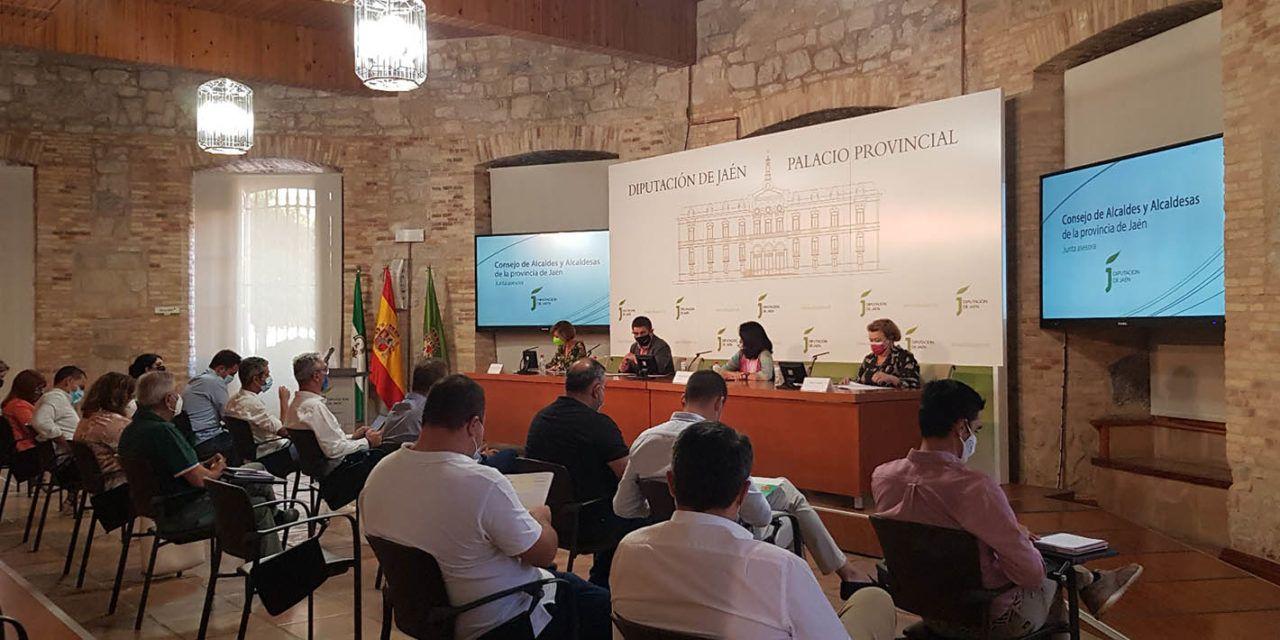Diputación pondrá en marcha un Plan Extraordinario de Apoyo a Municipios dotado con 8 millones de euros