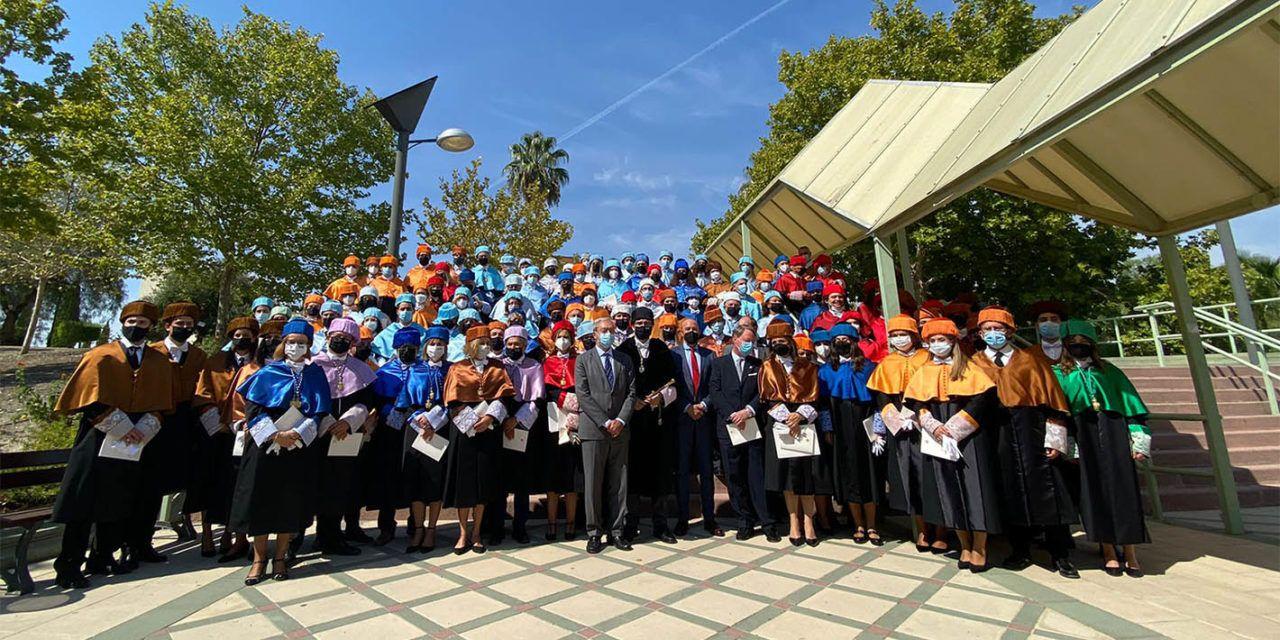 Apertura oficial del curso 2021/2022 en la UJA