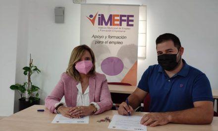 El Imefe cede cierra un convenio de cesión por un año de una nave del polígono industrial de Los Olivares a la empresa de Jaén «Settingcar»