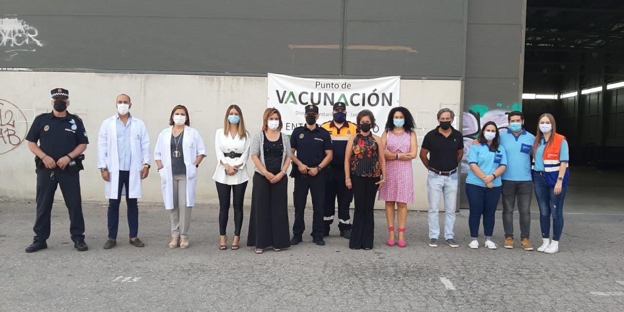 El Jaén Arena cierra tras vacunar contra la Covid-19 a más de 85.000 personas